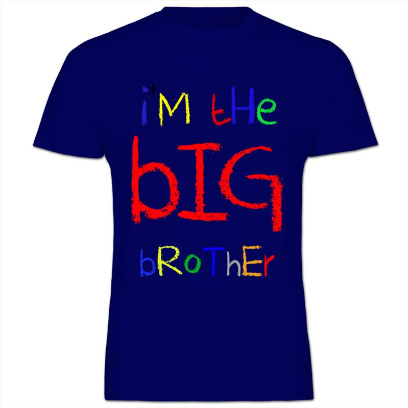 Im-The-Big-Brother-Funny-Cool-Gift-Kids-Boy-Cotton-T-Shirt